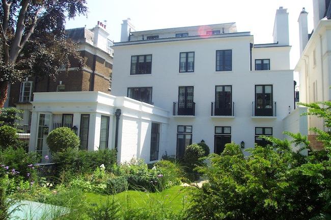 west London house